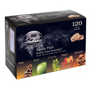 Smoker Bisquettes - 5 Flavor Variety (120 Pack)