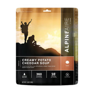 Creamy Potato Cheddar Soup Serves 2