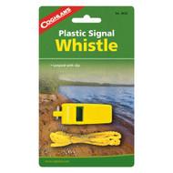 Signal Whistle Yellow Plastic