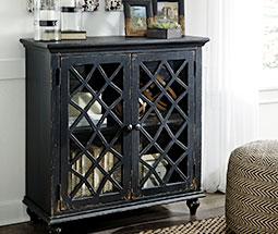 Black rustic cabinet