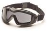Pyramex GB6420SDT V2G Plus Goggles, Frame: Black , Lens: Dual Gray H2X Anti-Fog (12 Pair)