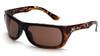 Venture Gear VGST918T Vallejo Safety Glasses Tortoise Frame with Bronze Anti-Fog Lens (1 Pair)