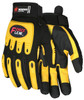 """Memphis KV200 - """"ForceFlex"""", Clarino Synthetic Leather Palm with PU Coating, Full sock Kevlar lining Glove (1 Pair)"""