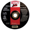 "United Abrasives 4 1/2"" X .0450"" X 7/8"" 60 Grit Medium A60S Aluminum Oxide SAIT® Fast Cut And Burr Free Type 27"