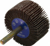 """Superior Abrasives 31810 1"""" X 1"""" Cost Control Mounted Flap Wheels X-Weight Cloth-A/O, 1/4"""" Shank, Qty. 10"""