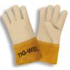 Cordova 8130S TIG-WEL Mig/Tig Welders Gloves, Premium Grain Cowhide, Kevlar Thread, Gauntlet Cuff, Small (12 pair) (02-354783.12)