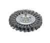 "Dynabrade 78879 - Knot Wire Wheel 3-1/4"" (83 mm) Dia. x .020 x 3/8"" Steel"