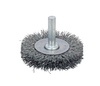 """Dynabrade 78862 - Crimped Wire Radial Wheel Brush 2-1/2"""" (64 mm) Dia. x .008 x 9/16"""" Steel"""
