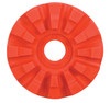 """Dynabrade 92297 - 4"""" (102 mm) Dia. Replacement RED-TRED Eraser Disc Staggered Teeth"""