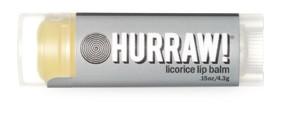 Hurraw Licorice Lip Balm