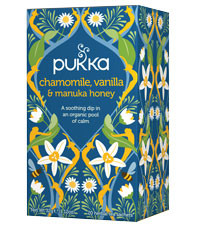 Pukka Chamomile, Vanilla & Manuka Honey Tea