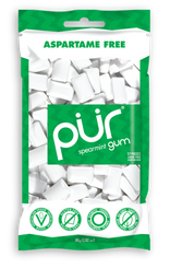 PUR Spearmint Gum 80g Bag