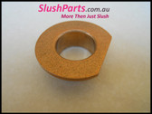 SPM - Shaft BRONZE BUSHING WITH PLATE