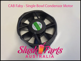 CAB Faby - Condensor Fan Motor - Single Bowl