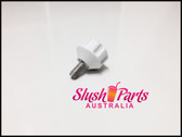BRAS - Screw Knob White for Condensor Panel