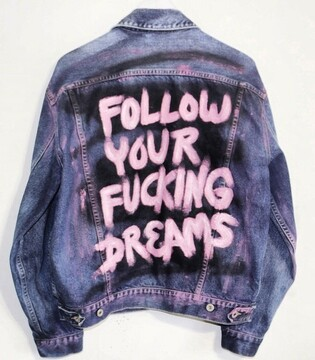 Follow Your Fucking Dreams Jacket (Men's)