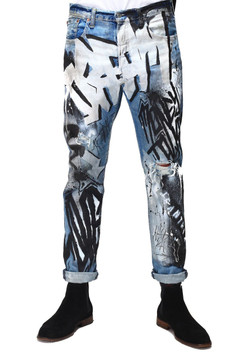 """DREAM"" GRAFFITI DENIMS"