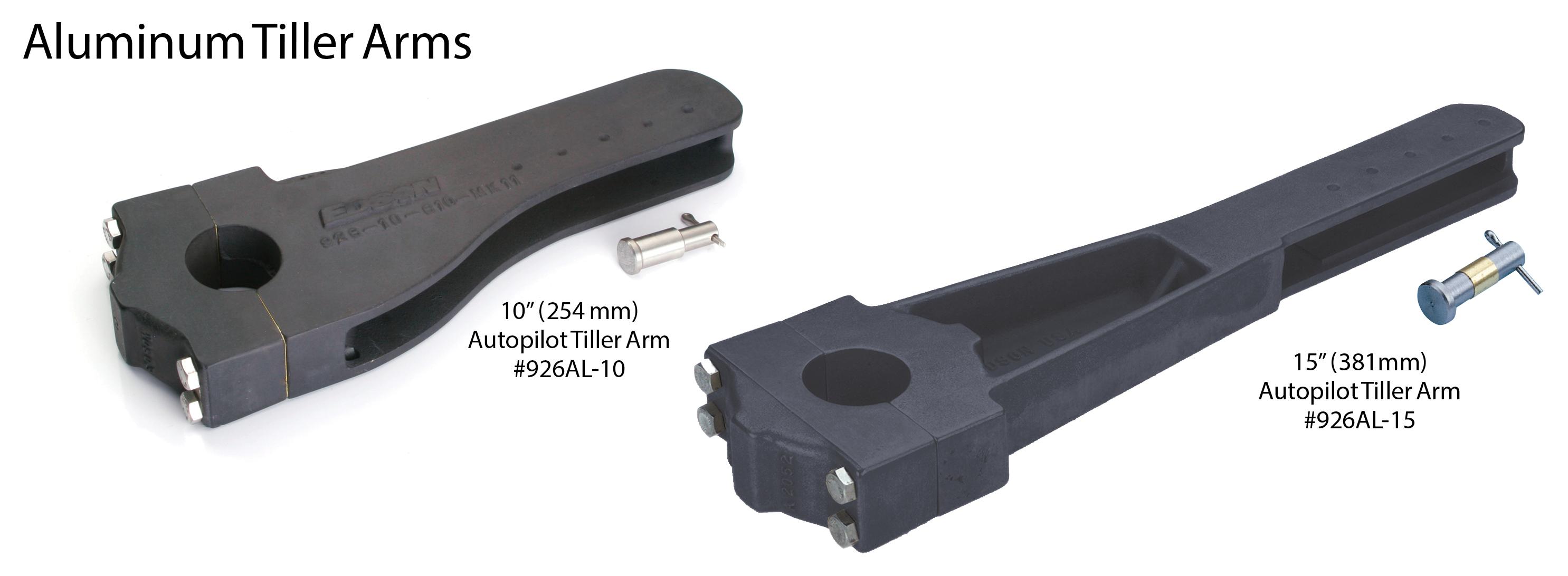 Aluminum Tiller Arms