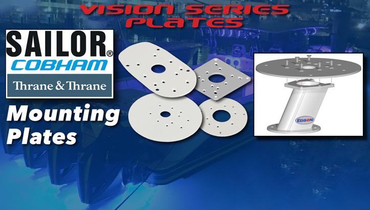 Cobham (Thrane & Thrane) Mounting Plates