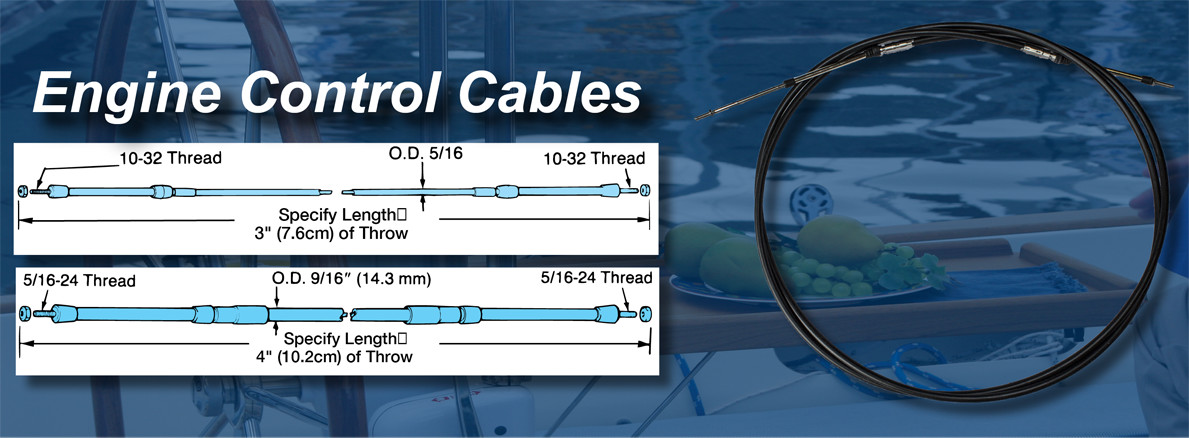 Engine Control Cables