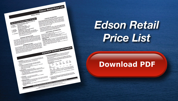 Edson Retail Price List