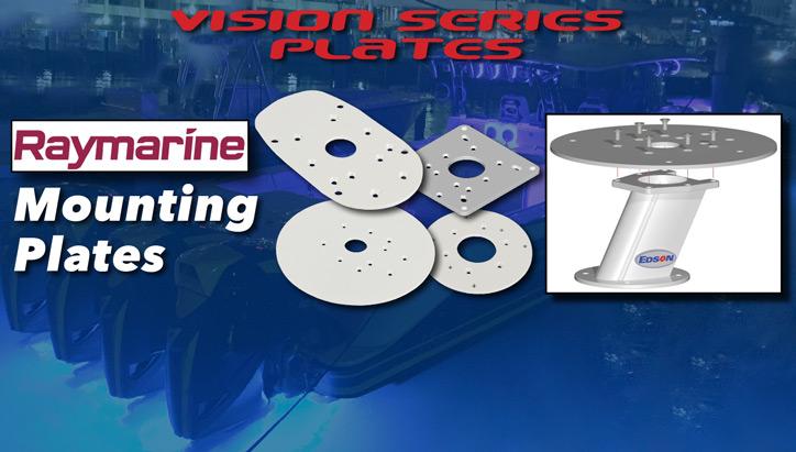 Raymarine Mounting Plates