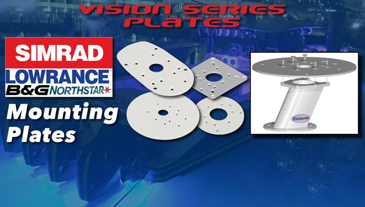 Simrad, Northstar, B&G, Lowrance Mounting Plates