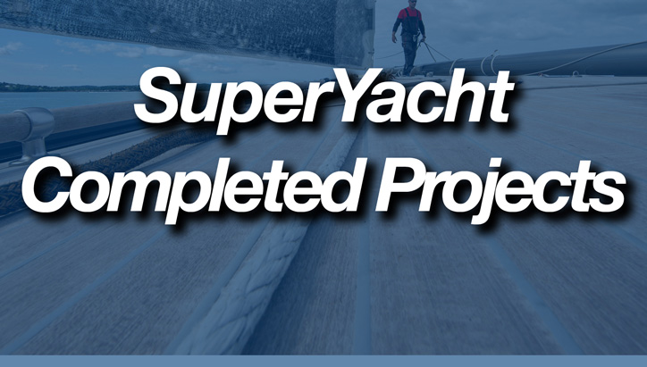 Superyacht Completed Projects