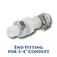 "Conduit End Fitting for 3/4"" Conduit"