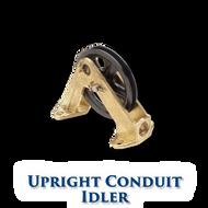 "Upright Conduit Idler - 4"" Sheave"