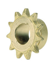 """Brass Single Hub Sprocket - 13 Tooth for 3/4"""" #60 Chain"""