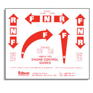 Engine Control Decal