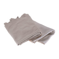 Leather Chaffing Gear - Dove Gray - 2.5 Sq Ft