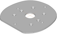 Mounting Plate - Simrad Halo Open Array