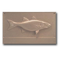 Striped Bass - Bronze Housemarker