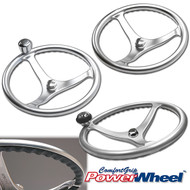 Satin Finish Stainless Steel PowerWheel