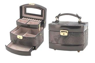 Snake Print Jewelry Box