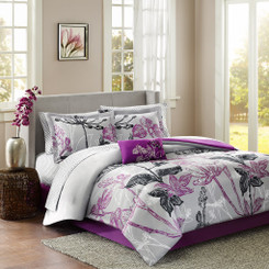 Claremont 9pc comforter set