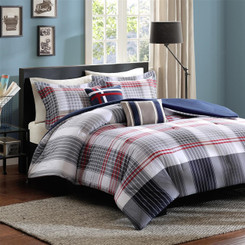 Caleb Full Bedding Comforter Set 5pcs