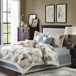 Quinton King Comforter Set 7pcs
