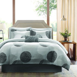 Karey Queen Comforter Set 9pcs