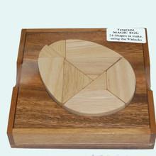 Wooden Tangram Magic Egg Maths Puzzle