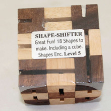 Shape Shifter Cube Wooden Puzzle
