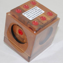Domino Cube Wooden Puzzle