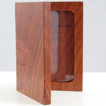 Small Red Cedar photo frame. 8 x10 x 2 cm folded. Australian made by Ted Davidson.