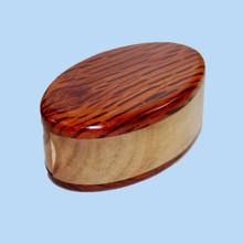 Flame She Oak Trinket Box.  Crafted in Australia.