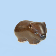 Australian made ceramic Wombat.