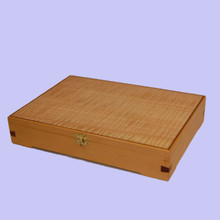 Made in Australia. Mountain Ash and Jacaranda Document Box.