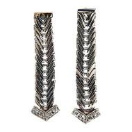Vintage 1950 Modern Era 14K Gold .10CT Full Cut Diamond Tip Dangle Earrings