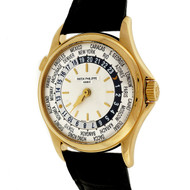 Patek Philippe World Time 5110J Self Wind Yellow Gold 240/188 Wrist Watch
